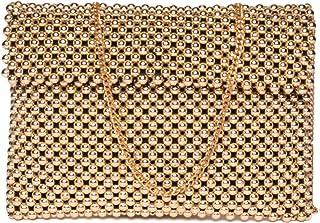 ASTRID Women's Sling Bag (Dazzling Silver Gold)