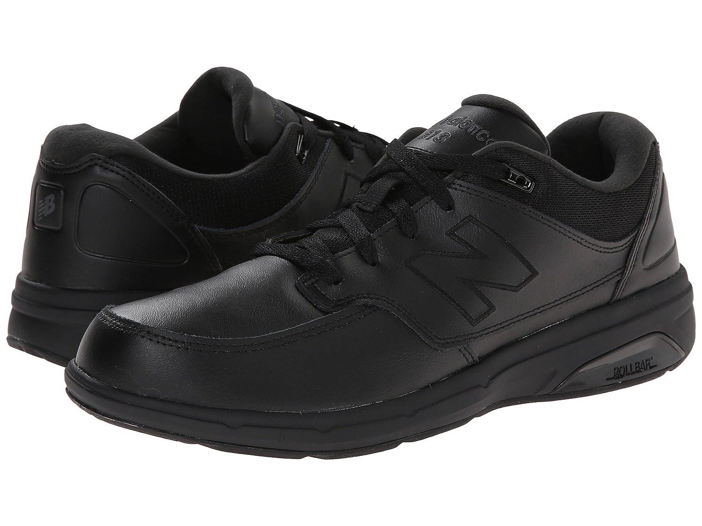 (ニューバランス) New Balance メンズウォーキングシューズ?靴 MW813 Black/Black 7 (25cm) D - Medium