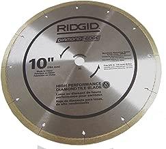 Best ridgid 10 saw blade Reviews