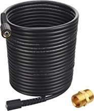 Tool Daily High Pressure Washer Hose 50 FT X 1/4 Inch, 3000 PSI, M22 14mm or M22 15mm, Replacement Power Washer Hose for Most Brands