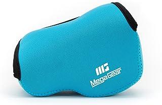 MegaGear MG075 Estuche para cámara fotográfica Carcasa compacta Azul - Funda (Carcasa compacta Sony Alpha A5100 A5000 with 16-50mm Lens NEX-5T NEX-3N NEX-5R Azul)