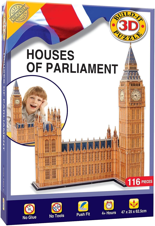 [UKImport]London Houses of Parliament 3D Jigsaw Puzzle