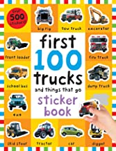First 100 Stickers: Trucks and Things That Go: Sticker book PDF