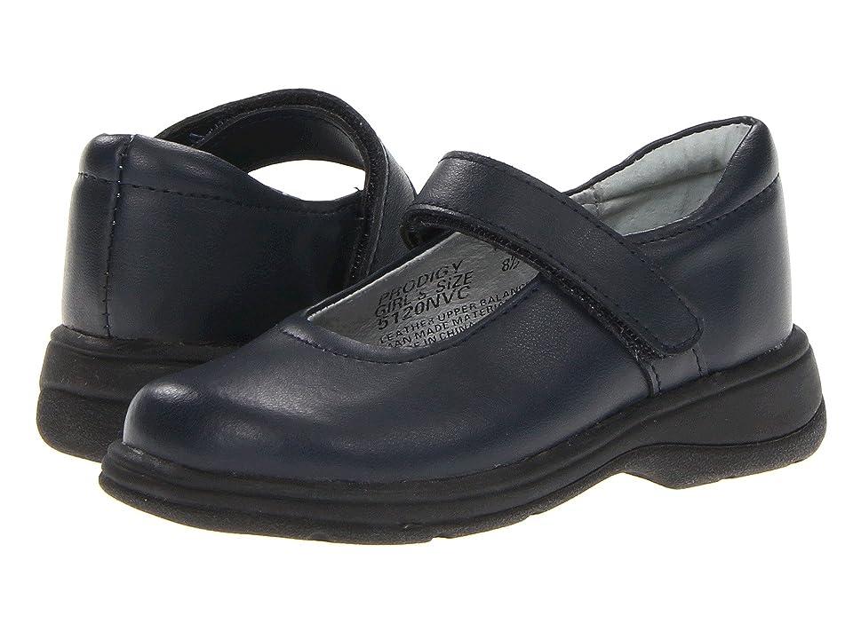 School Issue Prodigy (Toddler/Little Kid/Big Kid) (Dark Navy Leather) Girls Shoes