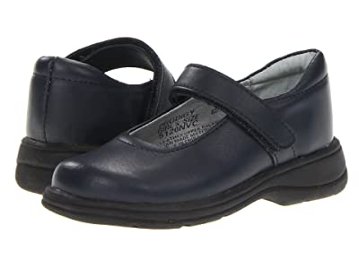 School Issue Prodigy (Toddler/Little Kid/Big Kid) (Dark Navy Leather) Girls Shoes