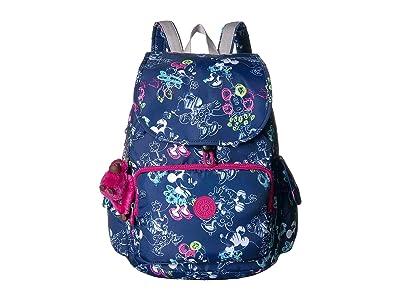 Kipling Minnie Citypack Backpack (Doodle Blue) Backpack Bags