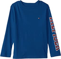 Tommy Hilfiger Kids - Dustin-Bex Jersey Long Sleeve Tee (Toddler/Little Kids)