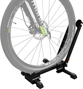 DNC Bike Stands for Storage, Bicycle Floor Type Parking Rack Stand for Mountain and Road Bike, Home Garage Cycling Storage Organizer Cycle Tires Rack Holder