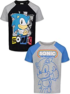 Sonic the Hedgehog Movie Print Kids Youth Manga Cotton T-Shirt Short Sleeve Tops