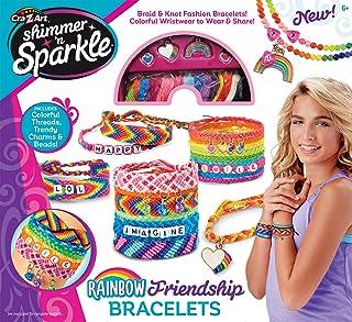 Cra-Z-Art Shimmer & Sparkle Over The Rainbow Friendship Bracelet Kit