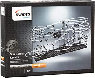 Marble Run Building Toy Fun for Kids and Adults Ages 14 Years and Older Star Coaster Level 3 Steel Ball Roller Coaster