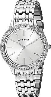 Anne Klein Women's Swarovski Crystal Accented Expansion Band Watch