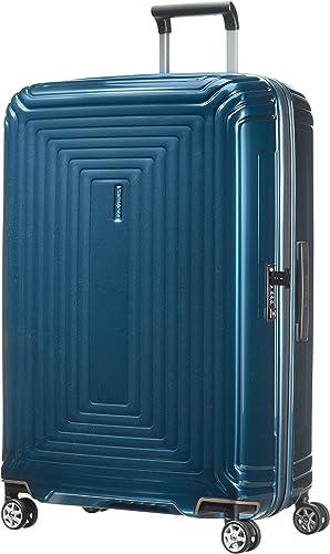 Samsonite Neopulse - Spinner L Valise, 75 cm, 94 L, Bleu (Metallic Blue)