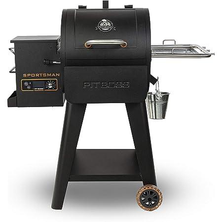 PIT BOSS 10532 PB0500SP Wood Pellet Grill, Black