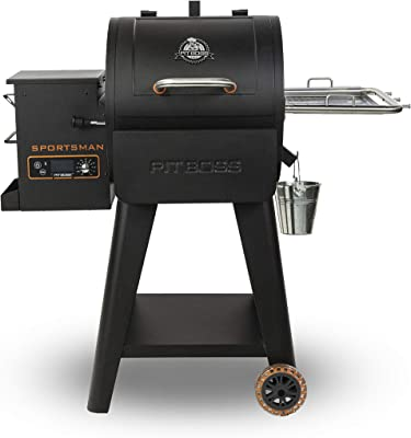 PIT BOSS 10532 PB0500SP Wood Pellet Grill, Black
