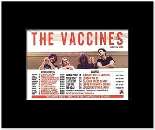 Music Ad World Vaccines - UK Tour 2013 Mini Poster - 21x13.5cm