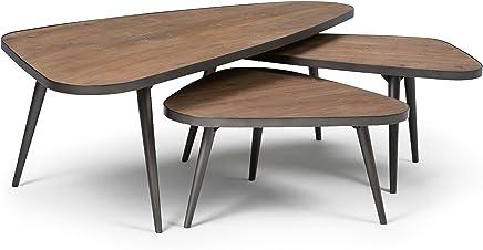 f56a1c10749b Aubrey 3-Pc. Nesting Coffee Table Set only  169.00