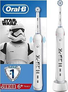 Oral-B - Junior Pro 2 Star Wars Elektrisk Tandborste, Vit - 1 Bit