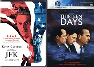 In 1963, Oliver Stone's JFK (Director's Cut) and Thirteen Days (InfiniFilm) 2-Movie Political Drama Bundle