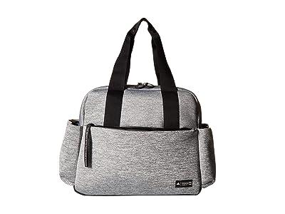 adidas Sport To Street Premium Tote (Jersey Knit Grey/Black) Tote Handbags