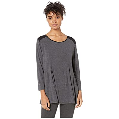 Donna Karan Classic Sleep Top (Charcoal Heather) Women