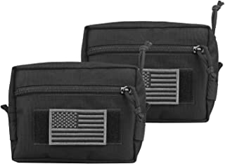 AMYIPO MOLLE Pouch 7×5×2.5 Multi-Purpose Compact Tactical Waist Bags Utility Pouch