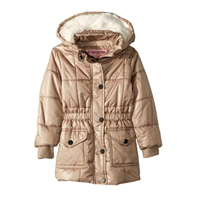 Urban Republic Kids Jane Long Puffer Jacket (Little Kids/Big Kids) (Gold) Girl
