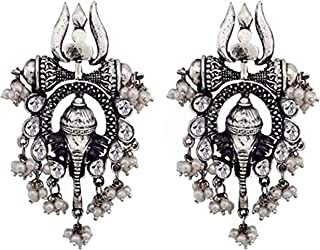 U Uzan V2 Fashion Celebrity Inspired Collection Jewellery Sets for Women (Silver)