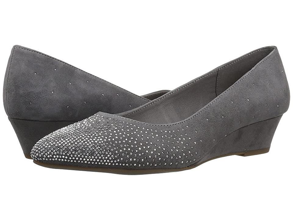 Anne Klein Ellery (Medium Grey Suede) Women