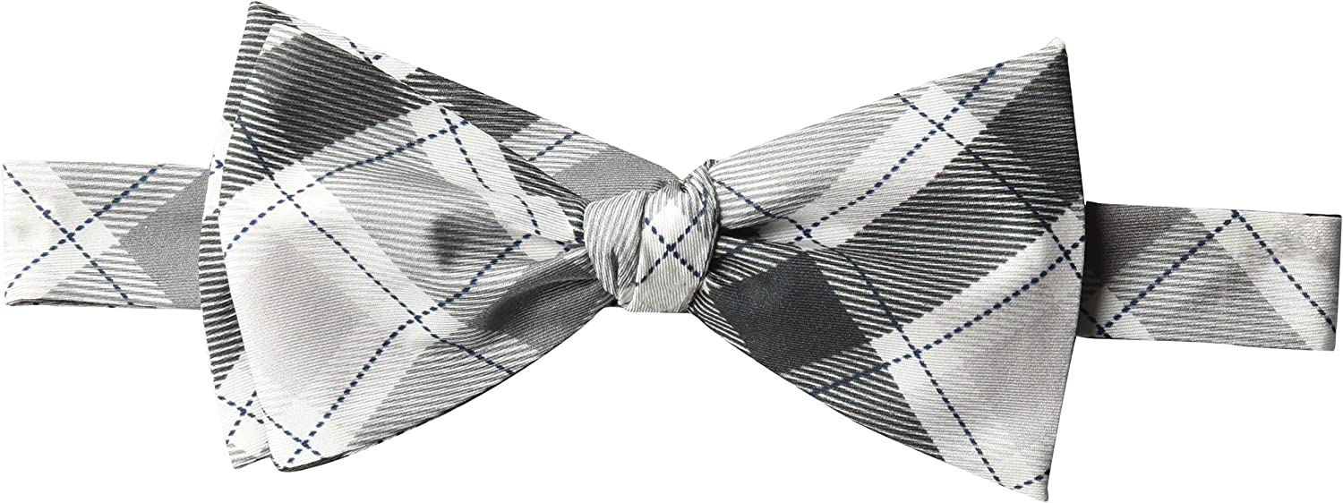 Dwyane Wade for The Tie Bar Men's People's Plaid Bow Tie