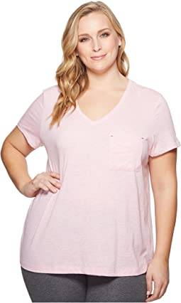 Nautica Plus Size Short Sleeve Tee