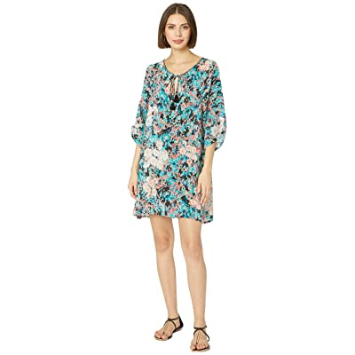 Tolani Valentina Tunic Dress (Lagoon) Women