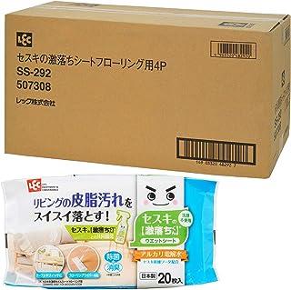 【Amazon.co.jp 限定】レック セスキ の 激落ちくんシート フローリング用 20枚入×48個 (960枚) 大容量 ケース販売