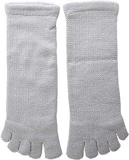 はくらく 五本指 ショート丈 ソックス 靴下 湯冷め対策 冷え取り 保温 やわらか 22-24cm 日本製
