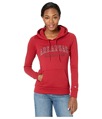 Champion College Arkansas Razorbacks Eco University Fleece Hoodie (Cardinal 3) Women