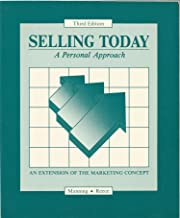 Selling Today - A Personal Approach: An Extension of the Marketing Concept