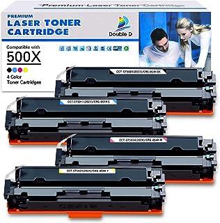 خرطوشة حبر متوافقة مع دابل دي لطابعة HP 202X 202A CF500X CF500A للاستخدام مع طابعة ليزر جيت برو MFP M281fdw M254dw M281cdw...