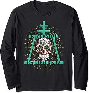 Riverside Sugar Skull Long Sleeve T-Shirt