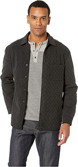 Trip Long Sleeve Quilted Terry Jacket