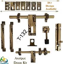 """Tredwere Door Kit Brass""""Antique (Premium Quality) (KT-132)"""
