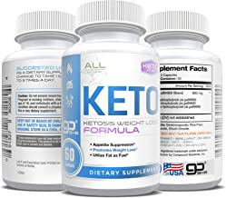 Keto Pills - Weight Loss for Men and Women - goBHB Formula - Ketosis Fat Burn - BHB Salts - Boost Energy - Burn Fat Fast - Reach Ketosis Fast - Appetite Suppressant - 30 Day Supply