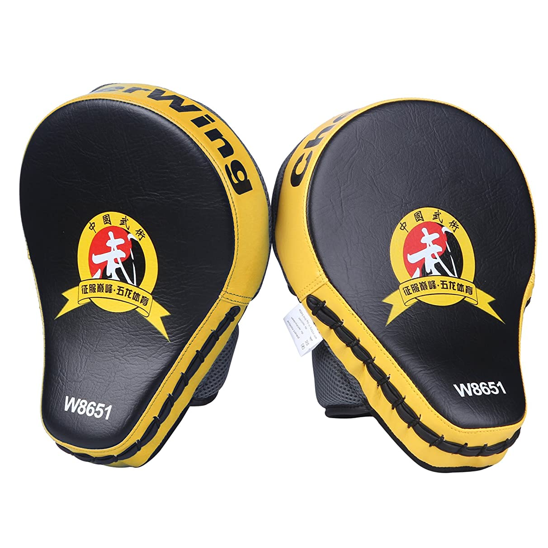 Cheerwing New Target MMA Boxing Mitt Focus Punch Pad Training Glove Karate Muay Thai Kick