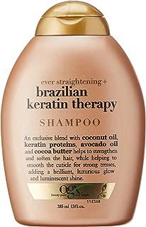 OGX Shampoo Ever Straightening+ Brazilian Keratin Smooth, 385ml