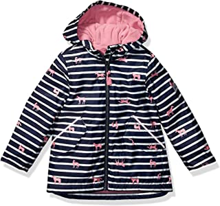 Joules Outerwear Girls 204828 Raindrop Jacket - Black - 4