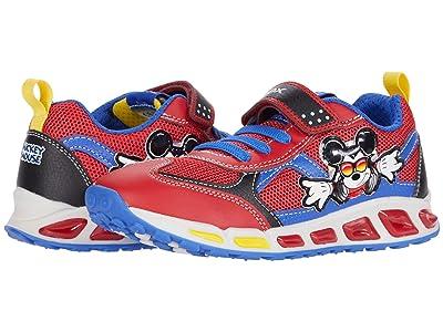 Geox Kids Shuttle 16 Mickey Mouse (Little Kid/Big Kid) (Red/Blue) Boy
