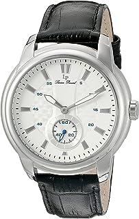 [ルシアン ピカール]Lucien Piccard 腕時計 'Duval' Quartz Stainless Steel and Leather Watch, LP-40032-02S メンズ [並行輸入品]