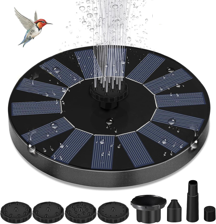 Solar Genuine Free Shipping Fountain Super sale Pump for with Birdbaths 1.5W