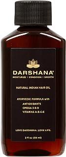 Darshana Natural Indian Hair Oil with Ayurvedic Botanicals (2 fl oz.)