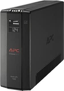 APC UPS, 1350VA Battery Backup & Surge Protector with AVR, Back-UPS Pro Uninterruptible Power Supply (BX1350M)