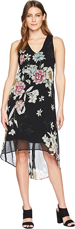 Karen Kane High-Low Hem Dress
